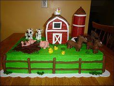 Old McDonald party? Farm Yard Birthday Party, Mcdonalds Birthday Party, Farm Themed Party, Harry Birthday, 2nd Birthday Party Themes, Baby Boy 1st Birthday, Farm Party, First Birthday Cakes, Birthday Ideas