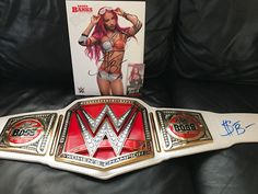 SASHA BANKS NEW AUTHENTIC HAND SIGNED REPLICA WWE WOMENS CHAMPIONSHIP BELT - http://bestsellerlist.co.uk/sasha-banks-new-authentic-hand-signed-replica-wwe-womens-championship-belt/
