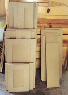 Great tutorial on building cabinet drawer fronts and doors using MDF, Medite or Arreis could be a good option.