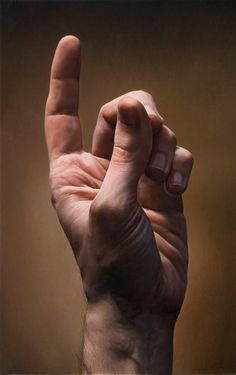 Hands Paintings by Javier Arizabalo