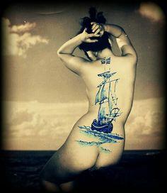 """Waves back"" Collage by BiekB"