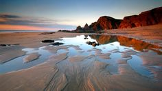 Webshots - Sandymouth Bay, Bude, Cornwall, United Kingdom