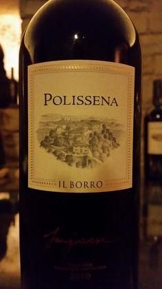 #IlBorro wine: Polissena #ilborroexperience #ilborrowinelovers