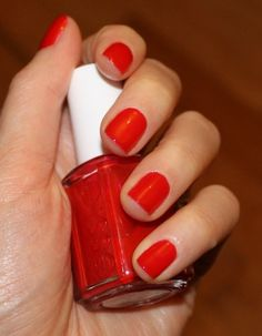 Essie: Really Red nail polish. The perfect red!