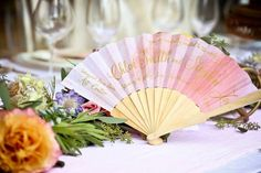 24 Summer Wedding Ideas to Copy for Your Own Celebration - Check out these steal-worthy summer wedding ideas, themes, and tips before you start planning your warm weather soirée. table decor fan  {Luster} Wedding Decorations, Table Decorations, Floral Watercolor, Watercolor Wedding, Wedding Inspiration, Wedding Ideas, Floral Wedding Invitations, Warm Weather, Summer Wedding