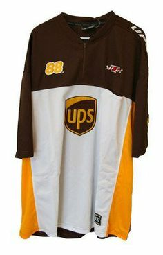 Ups Vintage Trackside Pit Shirt Large Jarrett Nascar Product by Motorsport Authentics. $24.99. Vintage trackside ups racing pit shirt officially licensed trackside pit shirt made by chase authentics/motorsports authentics. size: adult large classic logo on both sides full emboidered logos on both sides of this shirt and patches on sleeves this is a really nice item which has been sealed in plastic in our warehouse mint condition. you will not find a nicer item at this fantasti...