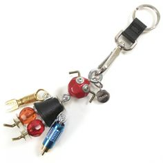 #HerschelSupply #Holiday   Vintage Vintage! Prada robot keyring :D