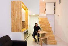 Loft ZURITA. Madrid : Comedores de estilo minimalista de Beriot, Bernardini arquitectos