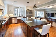 A gourmet kitchen built for one of our satisfied clients.