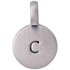 Vedhæng : Charms : Sølvbelagt