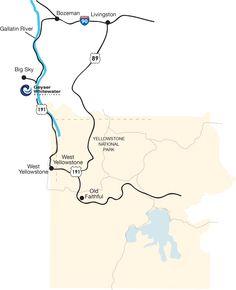 Yellowstone Montana Rafting and Zipline in Big Sky Montana