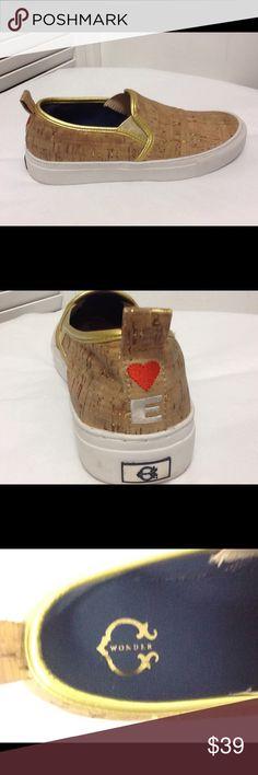 C Wonder Cork Gold Lines Slip On Sz 5.5 B C Wonder Cork Gold Lines Slip On Sz 5.5 B C. Wonder Shoes Flats & Loafers