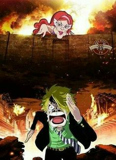 Attack on Sanji XD
