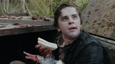 freddie highmore norman bates gif  Off the deep end.