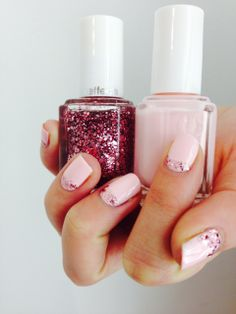Want to get a luxe Valentine's look? Why not try 'fiji' with a luxeffect top coat 'a cut above' #ValentinesDay #fiji