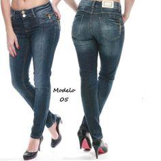 Sawary Calça Jeans Cós Médio Levanta Bumbum Zíper 05 - R$ 129,90