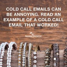 Cold Call Emails Can Be Annoying. Read An Example of a Cold Call Email That Worked! Cold Email, Cold Calling, Explain Why, Annoyed, Couple, Let It Be, Canning, Reading, Business