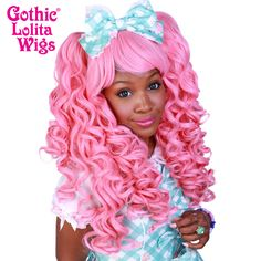 Gothic Lolita Wigs® <br> Baby Dollight™ Collection - 00008 Bubble Gum Pink
