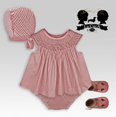 Smock Dress, Diy Dress, Little Girl Fashion, Kids Fashion, Toddler Outfits, Girl Outfits, Smocked Baby Dresses, Baby Dress Design, Smocking Patterns