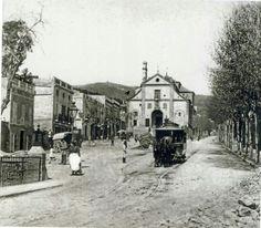 Plaça Lesseps, Barcelona 1880