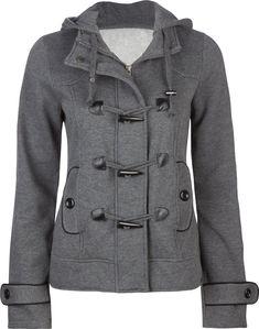 cute coat... I love grey