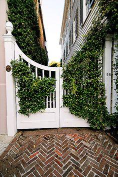 Garden Gate - Charleston, South Carolina