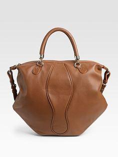 Christian Louboutin  Gem Nappa Rino Top Handle Bag