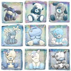 Tatty Teddy, Teddy Bear, Cute Images, Cute Pictures, Baby Animals, Cute Animals, Animal Doodles, Blue Nose Friends, Baby Clip Art