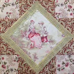 Block nr 5 van Barbara Brackmans Block of the Week - Austen Family Album