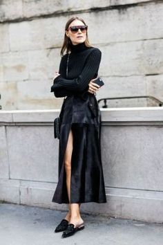all back with mules outfit #streetstyle #mules #styleinspiration #outfitideas