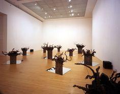 Sam Durant Upside sown : Pastoral scene  Los Angeles museum of Contemporary Art  2002