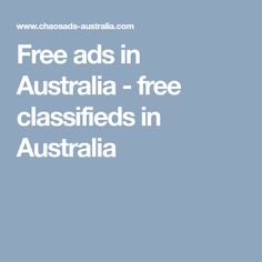 Free ads in Australia - free classifieds in Australia Free Ads, Love Spells, Australia, Tech Support, Cheating, Number, Usa, U.s. States