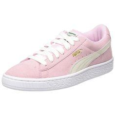 Pink Puma Suede