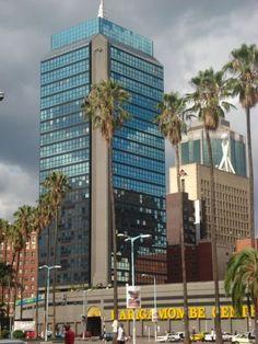 Downtown Harare Zimbabwe