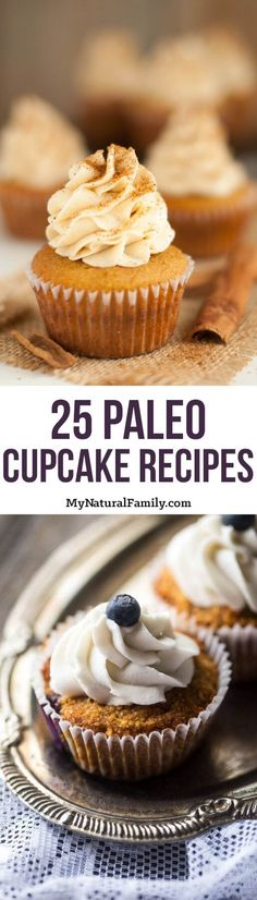 25 of our Favorite Paleo Cupcake Recipes