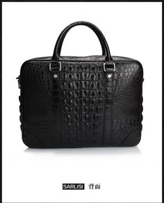 2016 Fashion Men's Genuine/Real Crocodile Skin Briefcase Laptop Bag Top Handbag Black/Brown/Coffe Online Shopping – Electronics Computeruniverse Mobile  FREE Shipping Worldwide  http://webdesgincompany.com/ http://olx.webdesgincompany.com/ The best online store for discount shopping. we offer best daily deals discounts on electronics, mobiles, accessories, computers, laptops etc for online customers ! We believe customer's satisfaction is company's reputation, Shop with us satisfaction is…