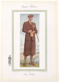 Menswear 1930s-English, Plate 017 :: Costume Institute Fashion Plates