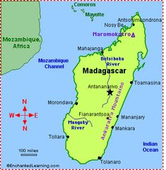 This island has fascinated me since childhood. It's always stood out as a very unique place. And then they went and made an AWESOME children's film about it! Madagascar JUST got better!