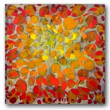 Description of Abstract Painting by Lynne Taetzsch.
