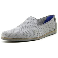 3d4525e59452c6 Oshua Men Suede Gray Loafer available at  Loehmanns Suede Loafers