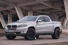 What If: BMW X5 Pickup Truck - Rendering - http://www.bmwblog.com/2017/02/20/bmw-x5-pickup-truck-rendering/