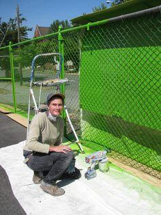 51 best chain link fence art images rh pinterest com