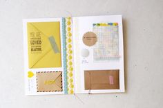 Inspiration: card with small envelopes, little notes and gifts from oh, hello friend: you are loved.