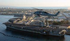 Coronado CA -- Naval Air Station North Island:  USS Nimitz (CVN 68), USS Ronald Reagan (CVN 76), and USS Carl Vinson (CVN 70)