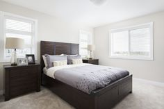 A quality home builder with 35 years of experience through our parent company Shane Homes. Currently building in the finest communities throughout Calgary and Airdrie. Visit our new communities, showhomes, new homes, quick possession homes and more. Home Builders, Master Bedroom, New Homes, House Design, Street, Furniture, Home Decor, Master Suite, Homemade Home Decor