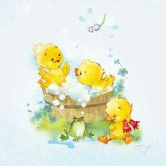 Patinhos cute
