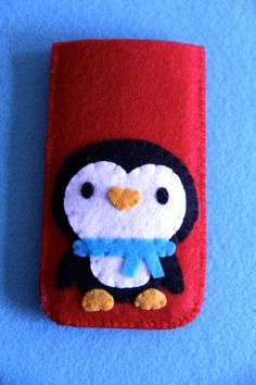 Handmade iPhone Felt Case iPhone 4 or 4S or 5 by Makesomeonesmiles, $13.00