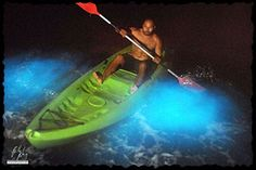 Bioluminescent Bay in Puerto Rico.  If you ever go to Puerto Rico, this is a MUST!  It was amazing!!
