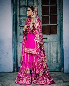 Kurti Designs Party Wear, Lehenga Designs, Indian Bridal Fashion, Indian Designer Outfits, Bridal Outfits, Bridal Dresses, Bridal Looks, Classy Outfits, Bride
