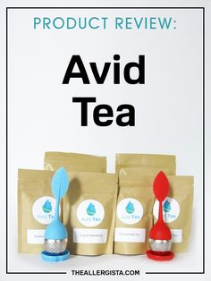 I asked for tea with healing properties for allergies and eczema and I got it! :-D PRODUCT REVIEW: Avid Tea — The Allergista